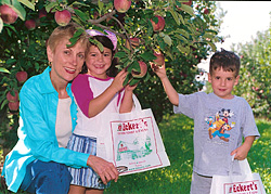 Jane Eckert grew up on the family Orchard, and wants to share the farm experience with every adult and child.