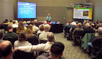 Agritourism Speaker and Consultant Jane Eckert has led workshops throughout North America.